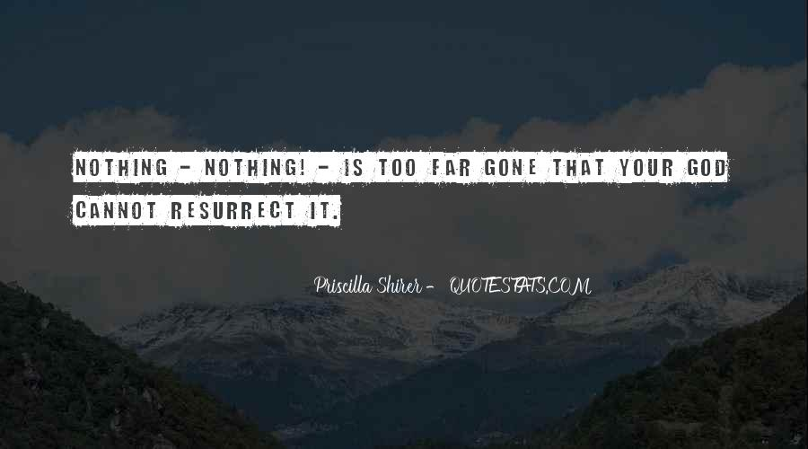 Nothing Is Too Far Quotes #97861