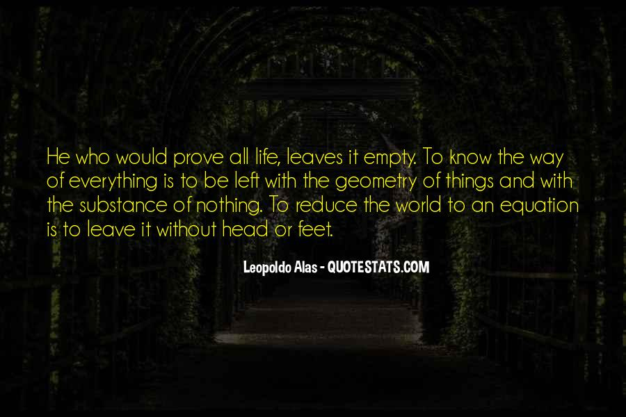 Nothing Left To Prove Quotes #1670514