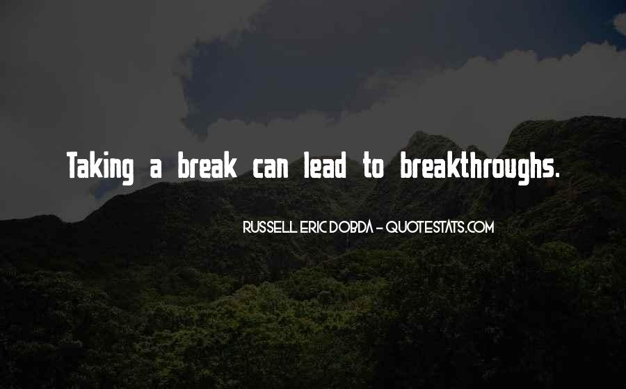 Nothing Will Break Me Down Quotes #17609