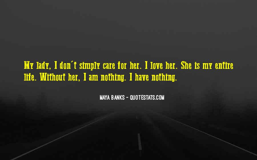 Nothing Without Her Quotes #1334072