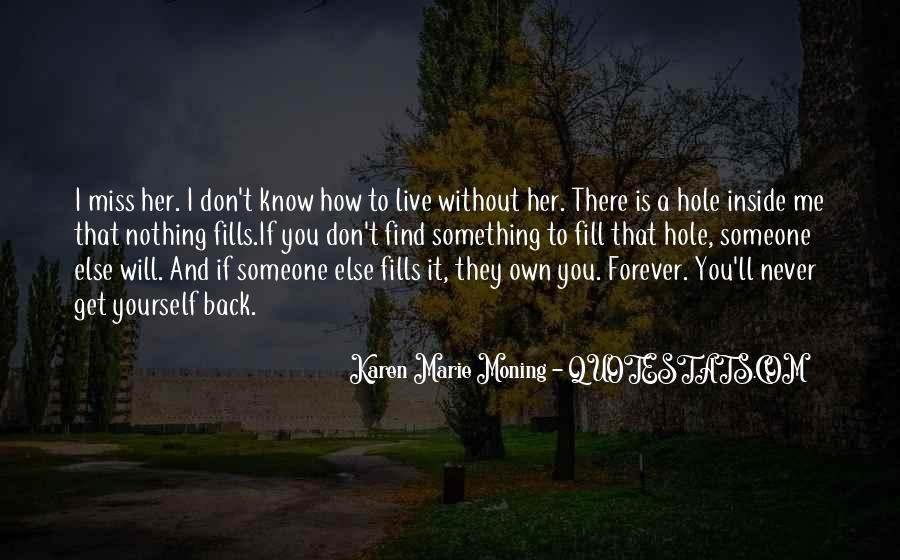 Nothing Without Her Quotes #1514891