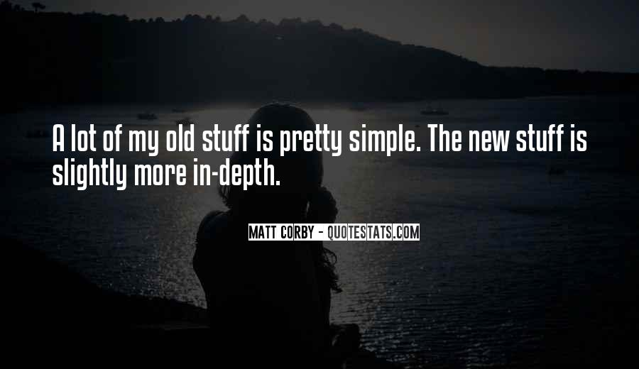 Nothing's Ever Simple Quotes #1661