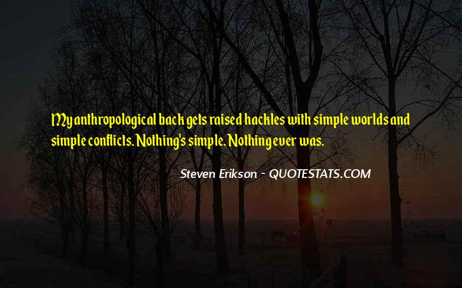 Nothing's Ever Simple Quotes #434932