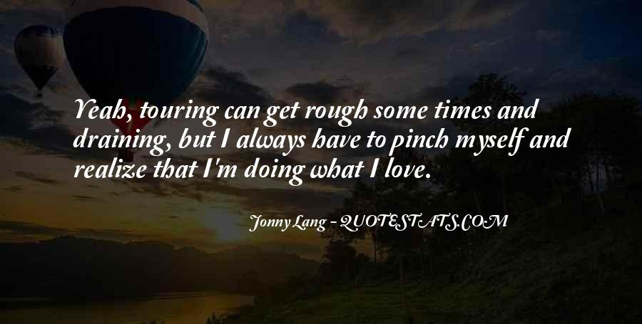 Now I Realize That I Love You Quotes #39508