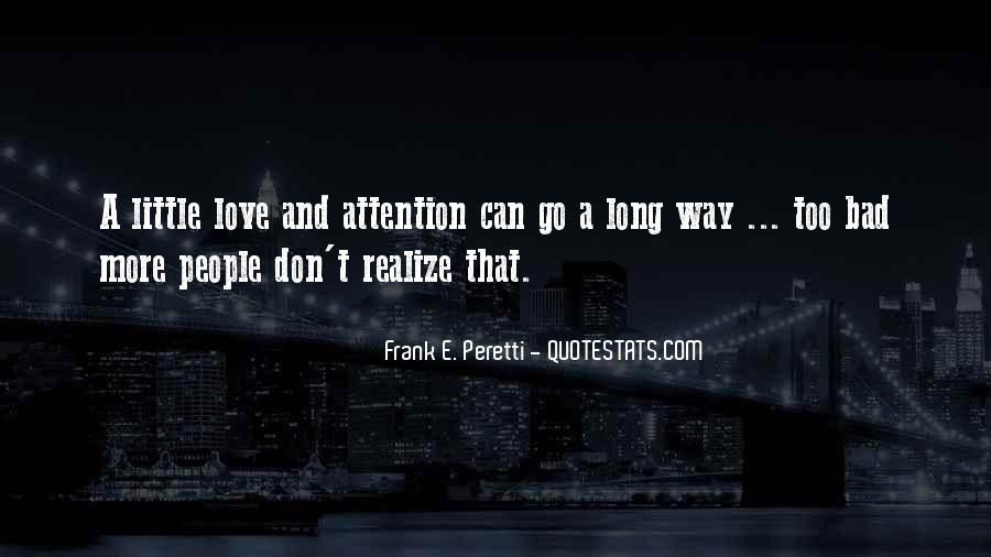 Now I Realize That I Love You Quotes #70086