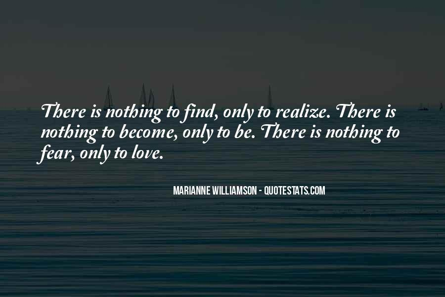 Now I Realize That I Love You Quotes #93402