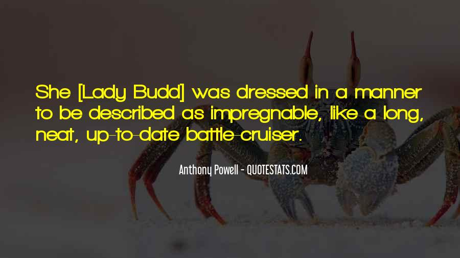 Quotes About Budd #353685