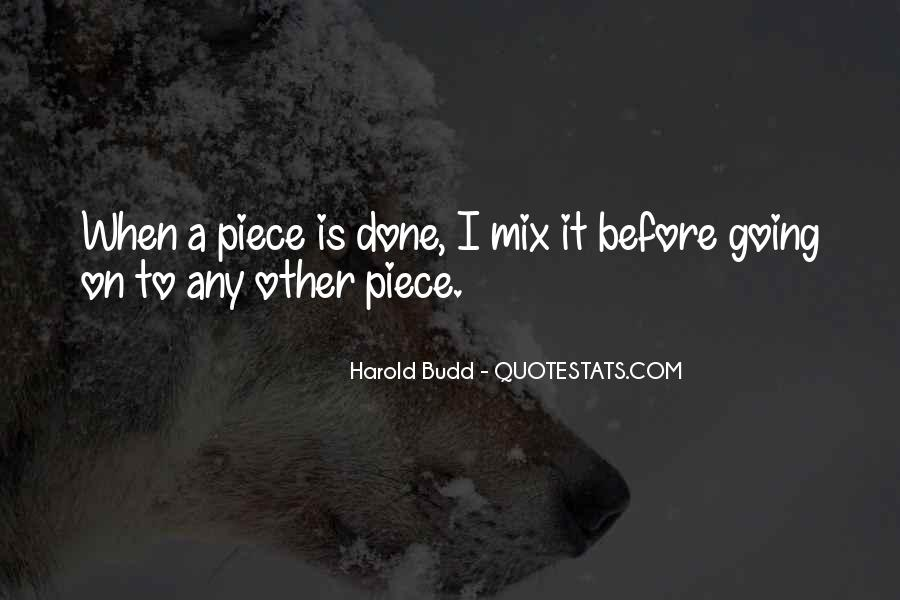 Quotes About Budd #646066