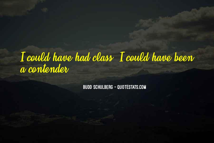 Quotes About Budd #719437