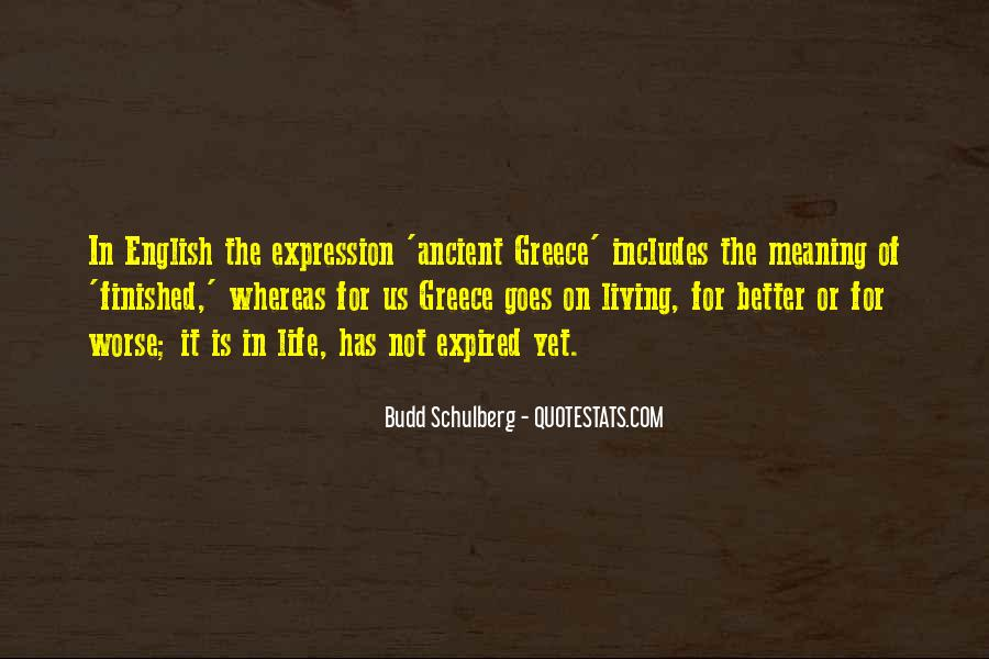 Quotes About Budd #732615