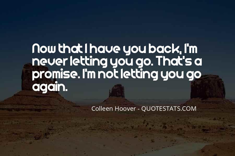 Now That I Have You Again Quotes #1758145
