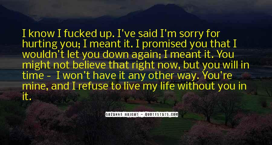 Now That I Have You Again Quotes #446522