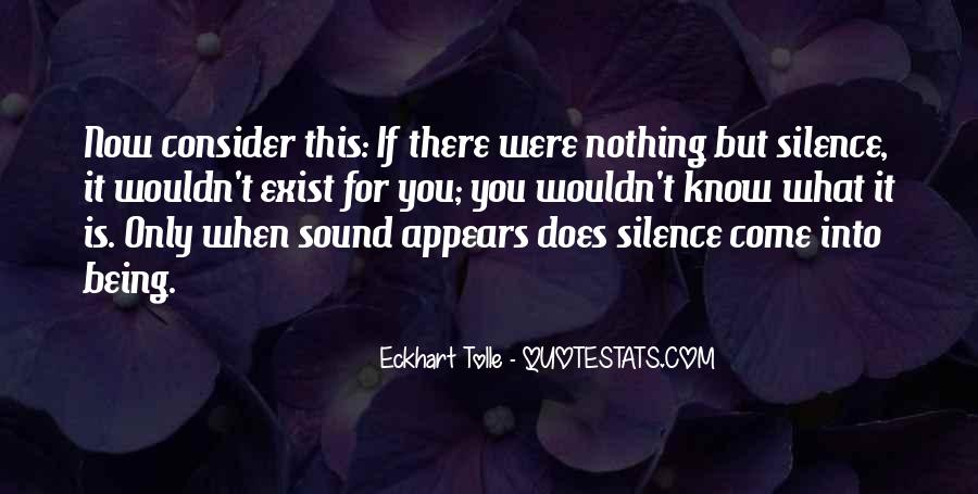 Now You Know Quotes #108809