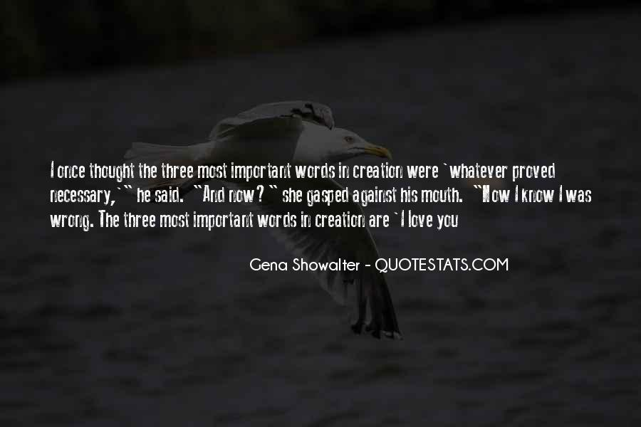 Now You Know Quotes #13751