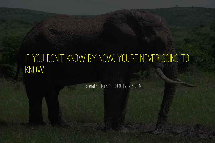 Now You Know Quotes #44926
