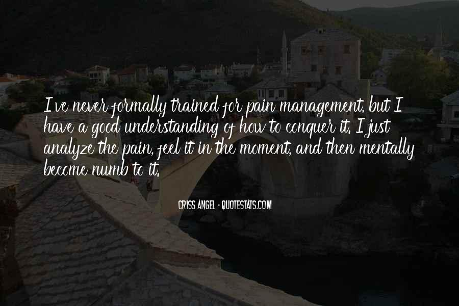 Numb To Pain Quotes #655637