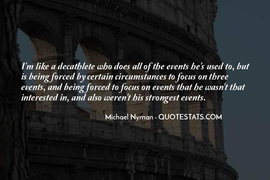 Nyman Quotes #58286