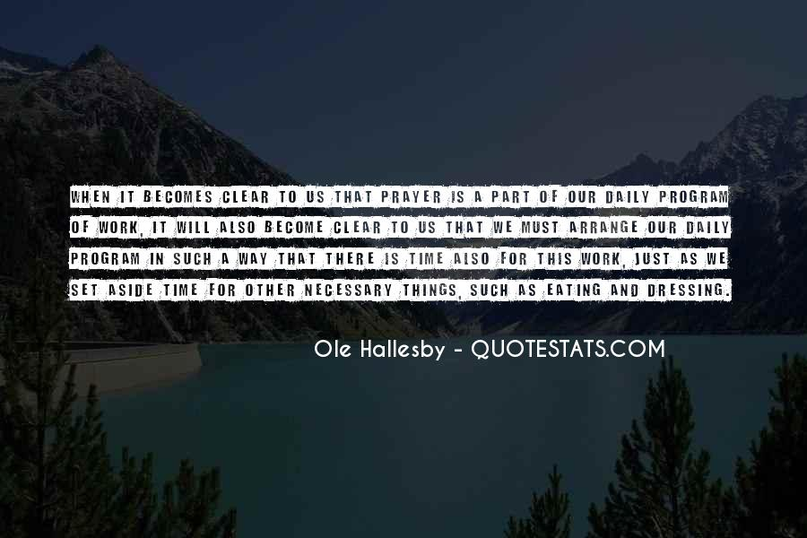 O Hallesby Quotes #1076787