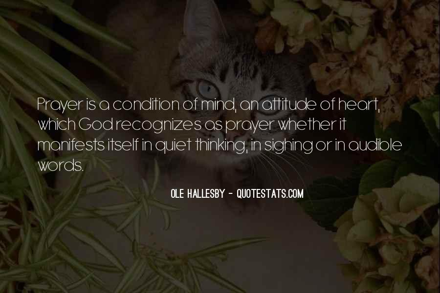 O Hallesby Quotes #1644059