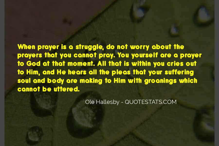 O Hallesby Quotes #1819430