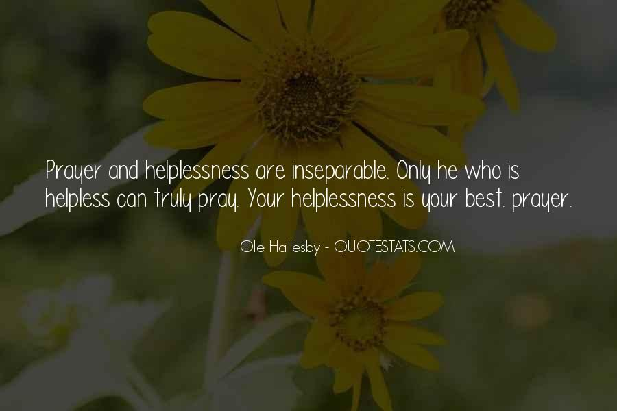 O Hallesby Quotes #494765
