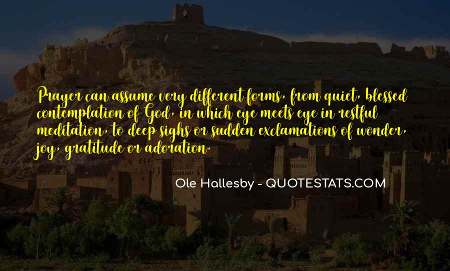 O Hallesby Quotes #521386