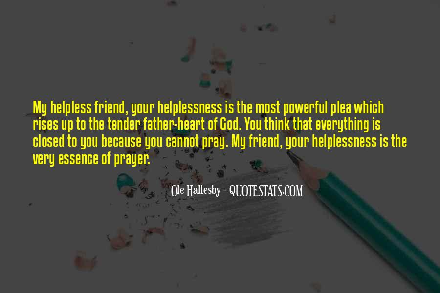 O Hallesby Quotes #818996