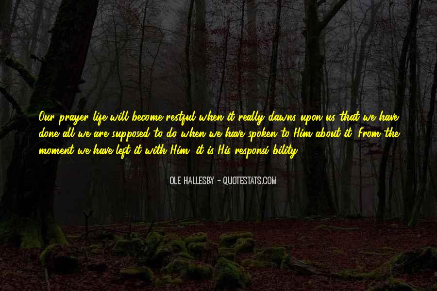 O Hallesby Quotes #905260