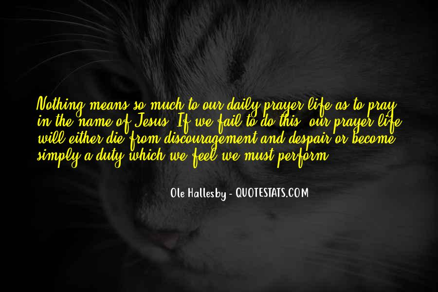 O Hallesby Quotes #938852