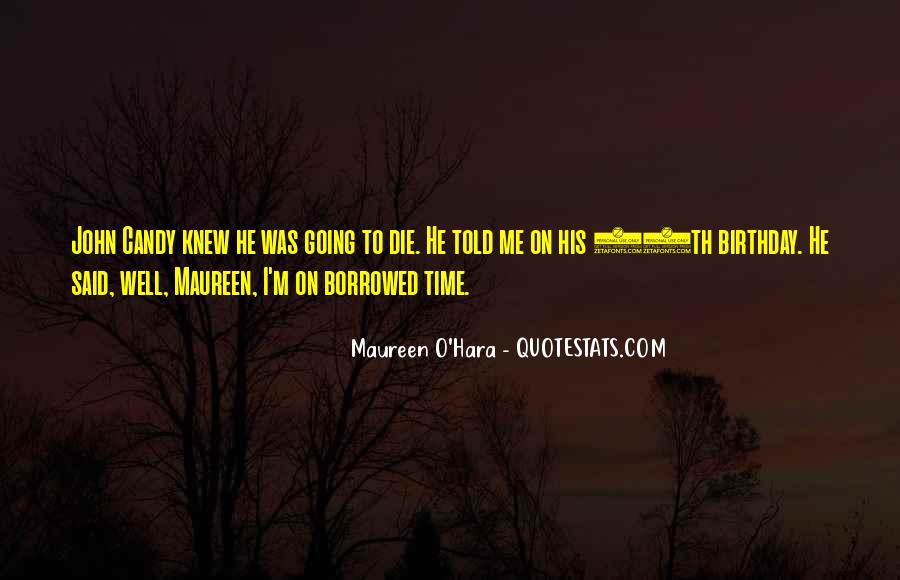 O'hara Quotes #275244