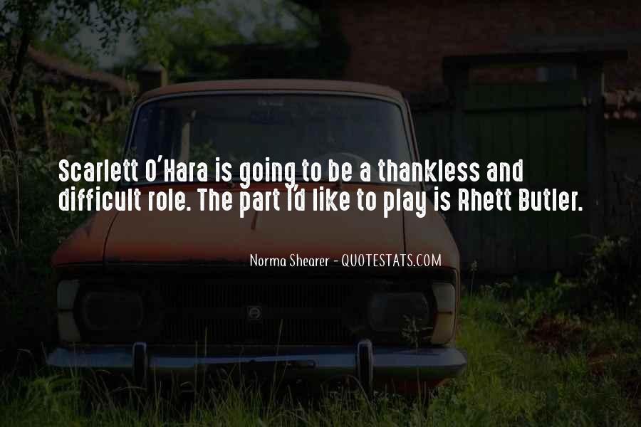 O'hara Quotes #404085