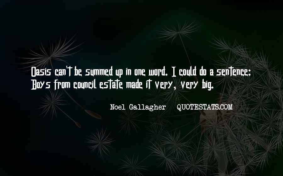 Oasis Noel Gallagher Quotes #716014