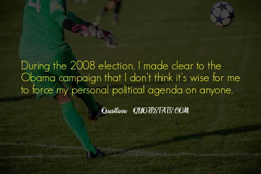 Obama Campaign Quotes #1291233