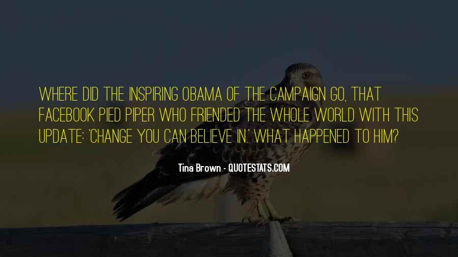 Obama Campaign Quotes #1683897