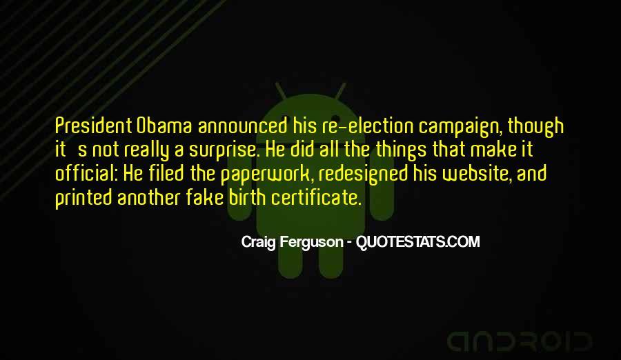 Obama Campaign Quotes #1814553