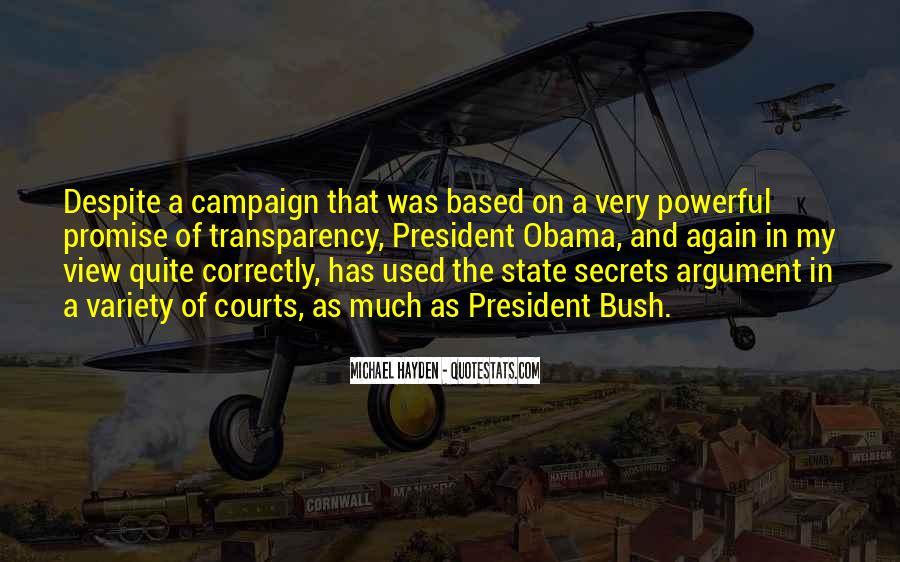 Obama Campaign Quotes #349457