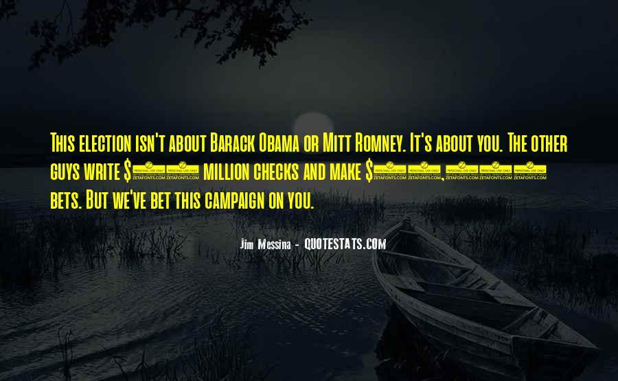 Obama Campaign Quotes #554053