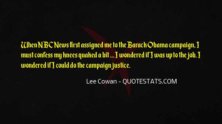 Obama Campaign Quotes #679591