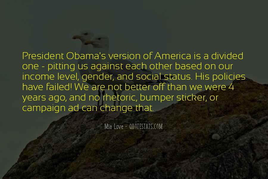 Obama Campaign Quotes #724663