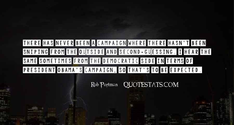 Obama Campaign Quotes #837884