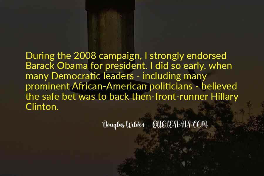 Obama Campaign Quotes #953667