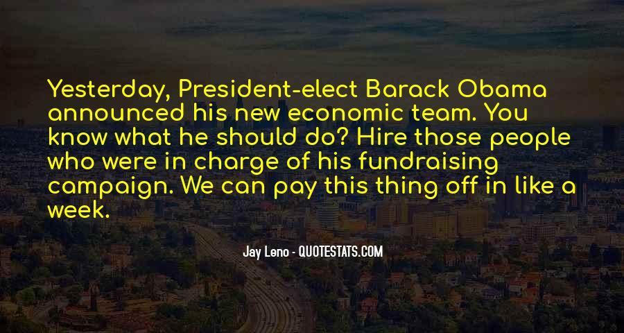 Obama Campaign Quotes #981227
