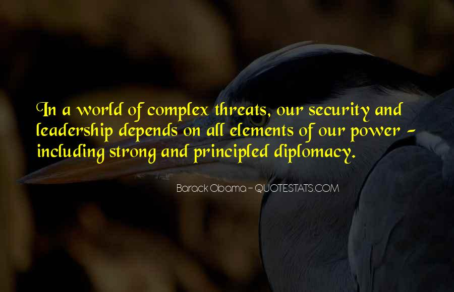 Obama Diplomacy Quotes #327923