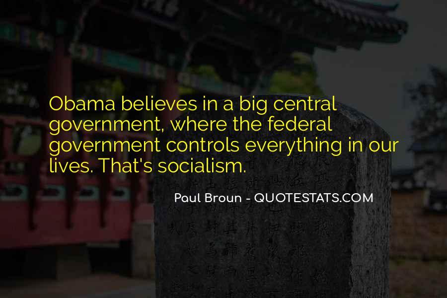 Obama Socialism Quotes #1799302