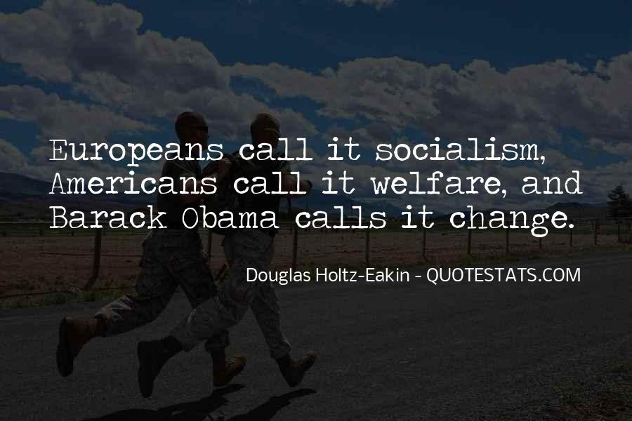 Obama Socialism Quotes #400787