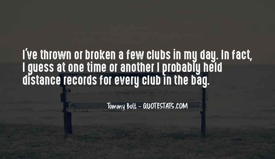 Quotes About Broken Records #1078032