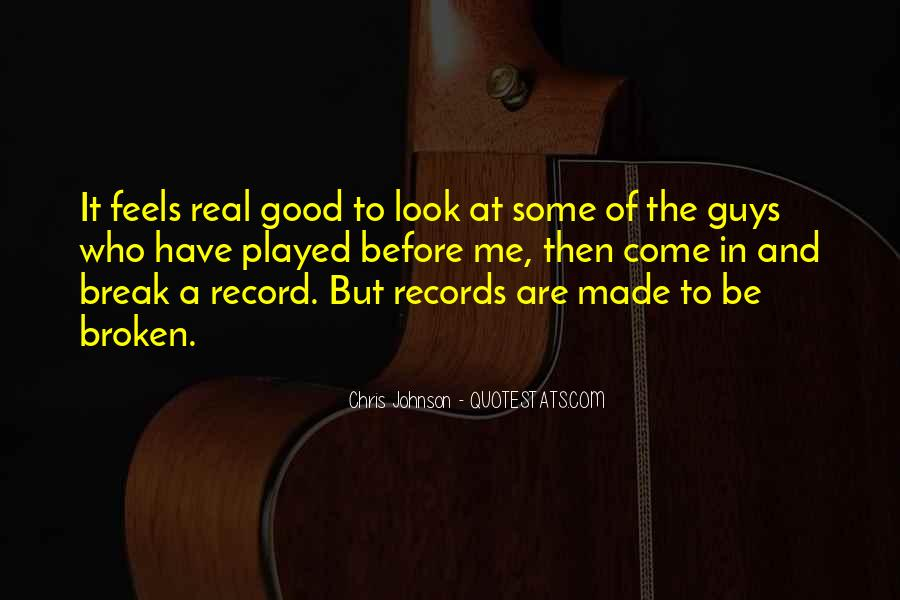 Quotes About Broken Records #1606113