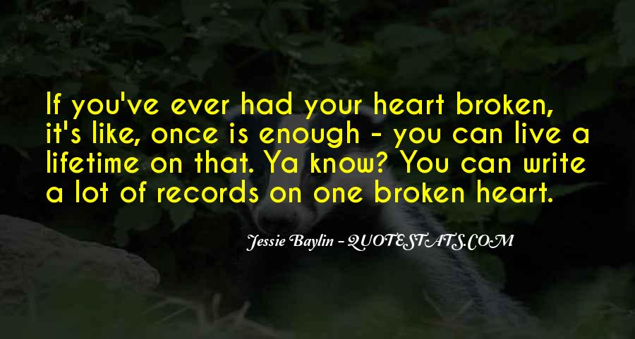 Quotes About Broken Records #809481