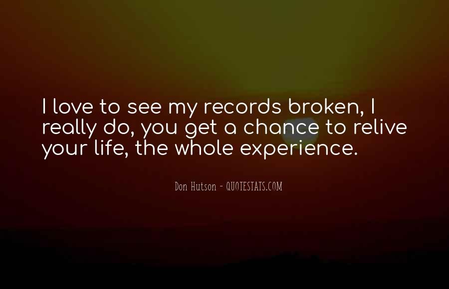 Quotes About Broken Records #968480