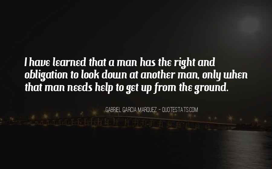 Obligation To Help Others Quotes #1635725